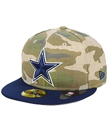 New Era Dallas Cowboys Vintage Camo 59FIFTY FITTED Cap