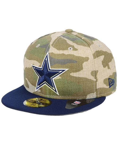 c2ff66c8a5 New Era Dallas Cowboys Vintage Camo 59FIFTY FITTED Cap   Reviews ...