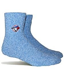 Toronto Blue Jays Parkway Team Fuzzy Socks