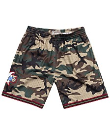 Mitchell & Ness Men's Philadelphia 76ers Woodland Camo Swingman Shorts