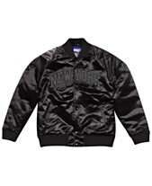 Mitchell   Ness Men s New York Knicks Tough Season Satin Jacket f4428194a017