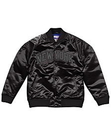Mitchell & Ness Men's New York Knicks Tough Season Satin Jacket