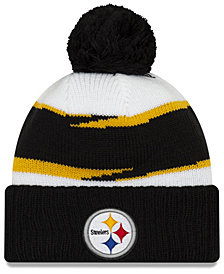 New Era Pittsburgh Steelers Thanksgiving Pom Knit Hat