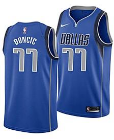 Luka Doncic Dallas Mavericks Icon Swingman Jersey, Big Boys (8-20)