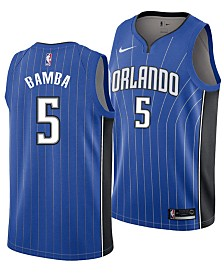 Nike Mohamed Bamba Orlando Magic Icon Swingman Jersey, Big Boys (8-20)