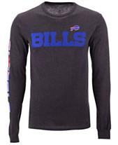Authentic NFL Apparel Men s Buffalo Bills Streak Route Long Sleeve T-Shirt 7e6580dee