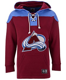 Men's Colorado Avalanche Breakaway Lace Up Hoodie