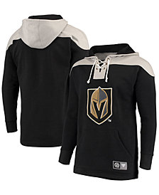 Majestic Men's Vegas Golden Knights Breakaway Lace Up Hoodie