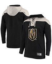 a7eb8c7d3 Majestic Men s Vegas Golden Knights Breakaway Lace Up Hoodie