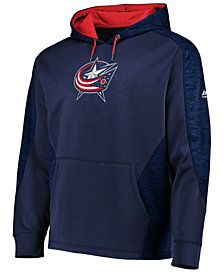 Majestic Men's Columbus Blue Jackets Armor Streak Hoodie