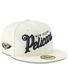 New Era New Orleans Pelicans Jersey Script 59FIFTY-FITTED Cap