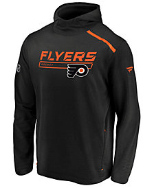 Majestic Men's Philadelphia Flyers Rinkside Transitional Hoodie