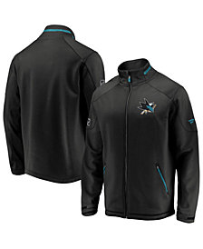 Majestic Men's San Jose Sharks Rinkside Authentic Pro Jacket