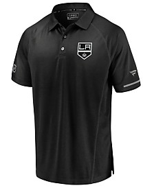 Majestic Men's Los Angeles Kings Rinkside Pro Polo