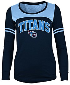 Women's Tennessee Titans Sleeve Stripe Long Sleeve T-Shirt