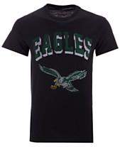 22d27c782b0 Authentic NFL Apparel Men s Philadelphia Eagles Shadow Arch Retro T-Shirt