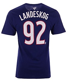 Men's Gabriel Landeskog Colorado Avalanche Authentic Stack Name & Number T-Shirt