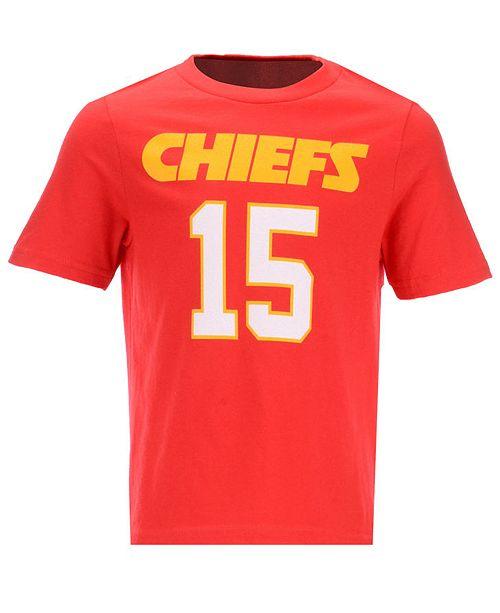 e50ee8ceace Outerstuff Pat Mahomes Kansas City Chiefs Mainliner Player T-Shirt, Little  Boys (4 ...