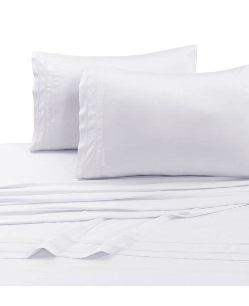 Tribeca Living 300 Thread Count Bamboo from Rayon Extra Deep Pocket Twin Sheet Set