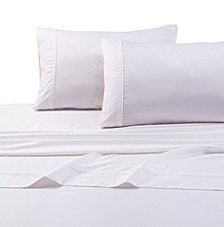 Tribeca Living Egyptian Cotton Sateen 500 Thread Count Extra Deep Pocket 4-Piece Queen Sheet Set