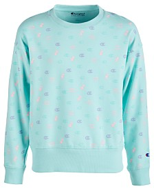 Champion Toddler Girls Logo-Print Sweatshirt