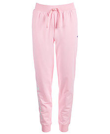Champion Big Girls French Terry Logo Jogger Pants