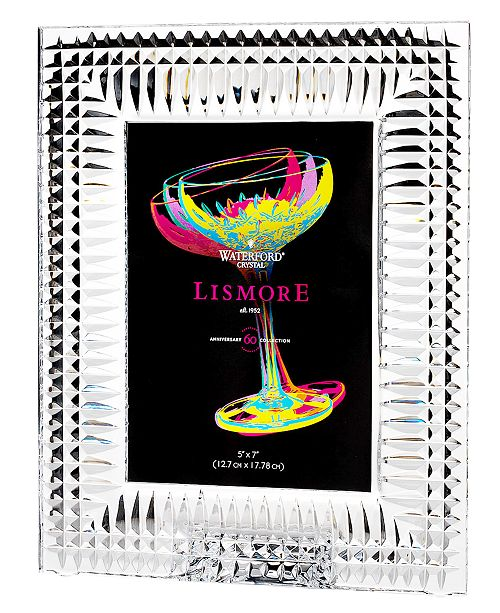 Waterford Gifts, Lismore Diamond Picture Frame 5\