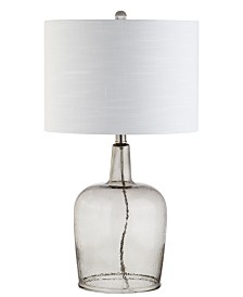 Jonathan Y Augustine Glass Led Table Lamp