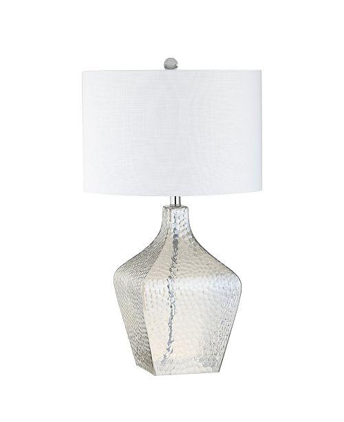 JONATHAN Y Jane Glass Led Table Lamp