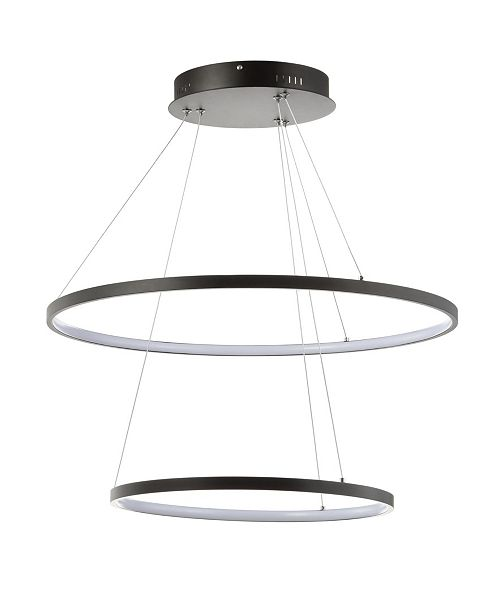 JONATHAN Y Brice Round Integrated LED Chandelier