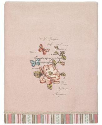 Butterfly Garden II Bath Towel