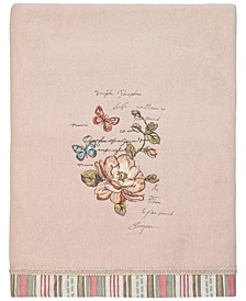 Butterfly Garden II Bath Towel