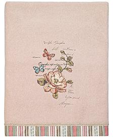 Avanti Butterfly Garden II Bath Towel