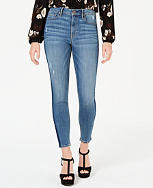American Rag Juniors' High-Rise Tuxedo Skinny Jeans, Created for Macy's
