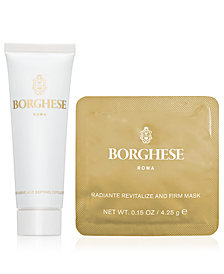 Step Up: Receive a FREE Get Glowing gift with any $70 Borghese purchase