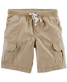 Carter's Little Boys Cotton Cargo Shorts