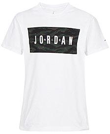 Jordan Big Boys Logo-Print Cotton T-Shirt