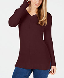 Charter Club Petite Tunic Sweater, Created for Macy's