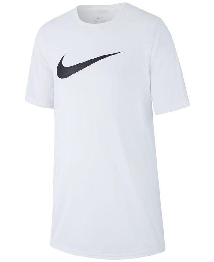 Nike - Big Boys Swoosh-Print T-Shirt