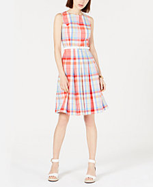 Tommy Hilfiger Plaid Dress