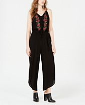 41c68815b099 American Rag Juniors  Embroidered Cropped Jumpsuit