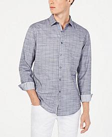 I.N.C. Men's Sloan Stretch Stripe Shirt, Created for Macy's
