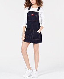 Dickies Cotton Overall Jumper Dress