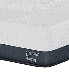 "MacyBed Lux Greenbriar 12"" Plush Euro Top Memory Foam Mattress - Queen, Created for Macy's"
