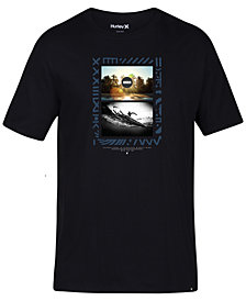 Hurley Mens Solidad Graphic T-Shirt