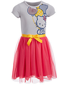 Hello Kitty Little Girls Balloon Dress