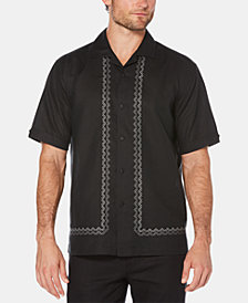 Cubavera Men's Camp Collar Short-Sleeve Linen Shirt