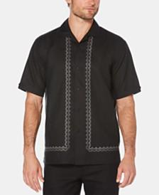 Cubavera Men's Camp Collar Short-Sleeve Linen Shirt