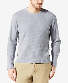 Dockers Men's Waffle-Knit Long-Sleeve T-Shirt