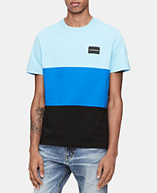 Calvin Klein Jeans Men's Global Colorblocked T-Shirt